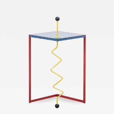 Hank Kwint An Outrageous Side Table Hank Kwint Design Netherlands 1984