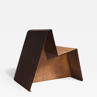 Hannah Vaughan Hannah Vaughan Rust Chair from the Remnant Series Rust 2016 Limited Edition
