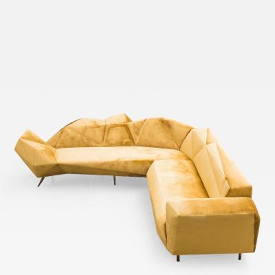 Hannes Grebin Cozy L Shape Sofa DE