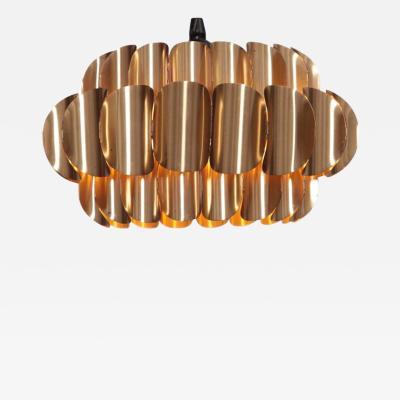 Hans Agne Jakobsson Brass Pendant Lamp by Hans Agne Jakobsson