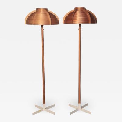 Hans Agne Jakobsson Floor Lamps 1960