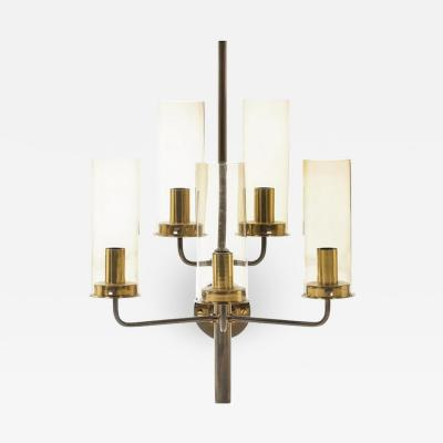 Hans Agne Jakobsson Hans Agne Jakobsson Brass Wall Sconce with Five Lights