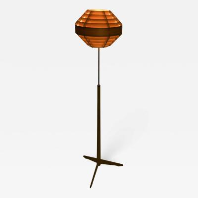 Hans Agne Jakobsson Hans Agne Jakobsson Ellysett Pine Veneer Floor Lamp Tripod from Bergboms G 34