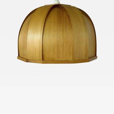Hans Agne Jakobsson Hans Agne Jakobsson ellysett ceiling lamp of wood