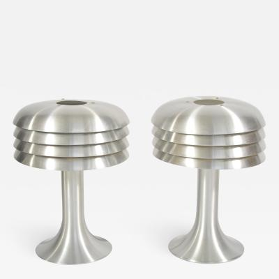Hans Agne Jakobsson Pair of 1960s table lamps by Hans Agne Jakobsson
