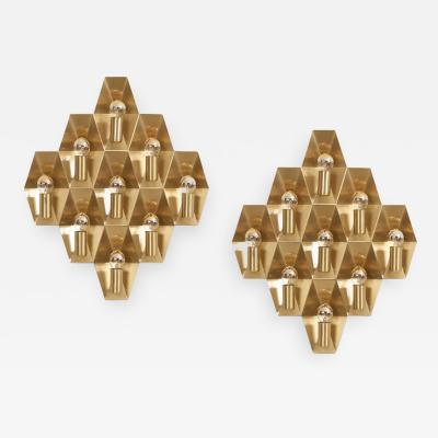 Hans Agne Jakobsson Pair of Wall Lights or Sconces by Hans Agne Jakobsson