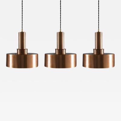 Hans Agne Jakobsson Pendants T292 in Copper by Hans Agne Jakobsson