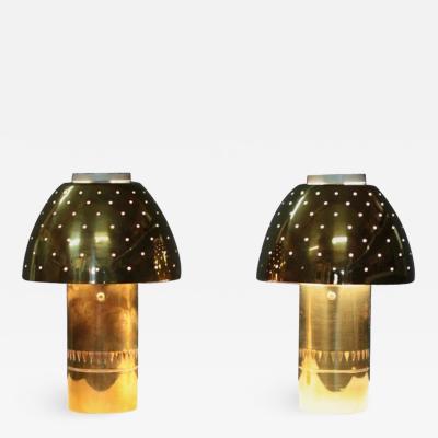 Hans Agne Jakobsson Table Lamps Model B 221 1965
