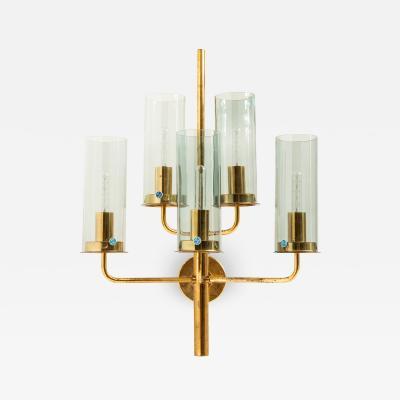 Hans Agne Jakobsson Wall Lamp Model V 169 5 Produced by Hans Agne Jakobsson AB