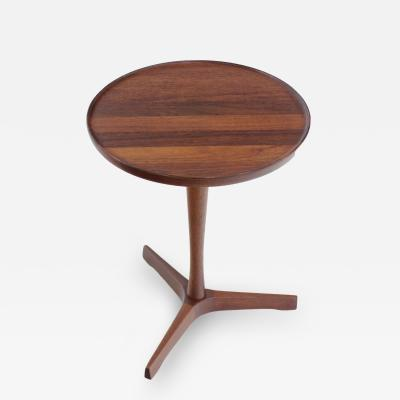 Hans Andersen Scandinavian Modern Side Table Designed by Hans Andersen