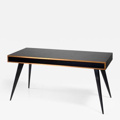 Hans Bellmann Hans Bellmann wooden desk Switzerland 1950s
