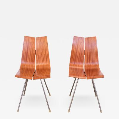 Hans Bellmann Pair of Hans Bellmann GA Dining Chairs