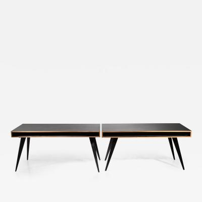Hans Bellmann Rare pair Hans Bellmann desks in black