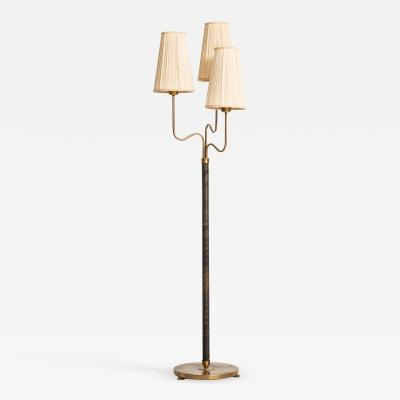 Hans Bergstr m Floor Lamp Produced by ASEA in Sweden