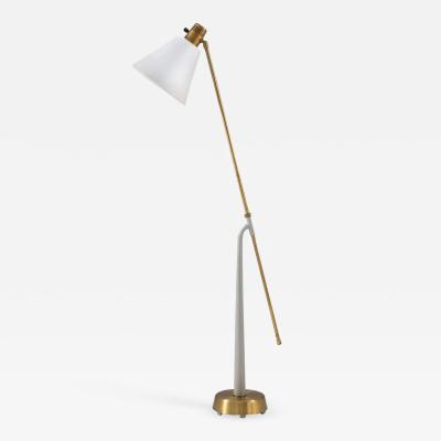 Hans Bergstr m Midcentury Floor Lamp by Hans Bergstr m for Atelj Lyktan 1940s Sweden