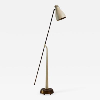 Hans Bergstr m Rare Model 541 Floor Lamp by Hans Bergstrom for Atelje Lyktan