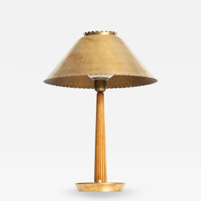 Hans Bergstr m Table Lamp Produced by ASEA