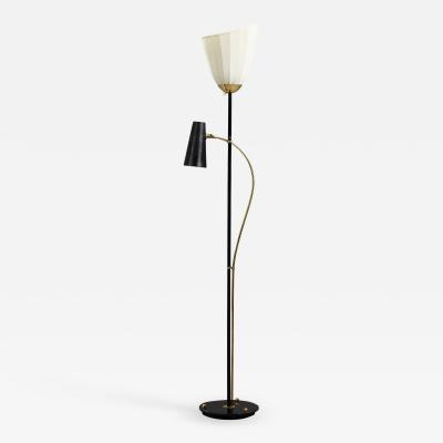 Hans Bergstrom Swedish Floor Lamp by Hans Bergstr m