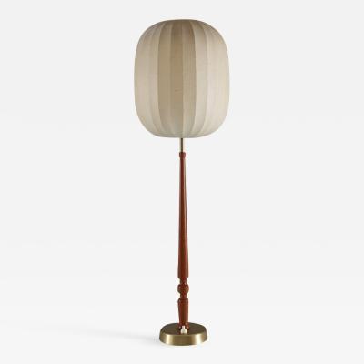 Hans Bergstrom Swedish Midcentury Table Lamp by Hans Bergstr m Modell 743