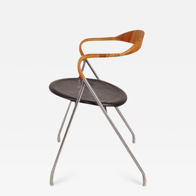 Hans Eichenberger 1955s Saffa HE103 Chair by Hans Eichenberger for Dietiker Switzerland