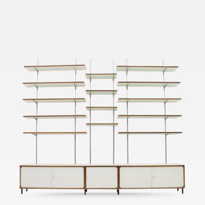 Hans Gugelot Sideboard and Shelf by Hans Gugelot for Bofinger Germany 1965