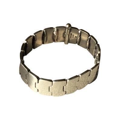 Hans Hansen Hans Hansen Sterling Silver Modernist Bracelet