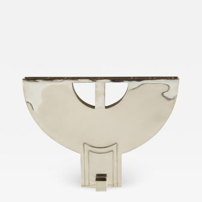 Hans Hollein Sterling Silver candelabra Menorah by Hans Hollein