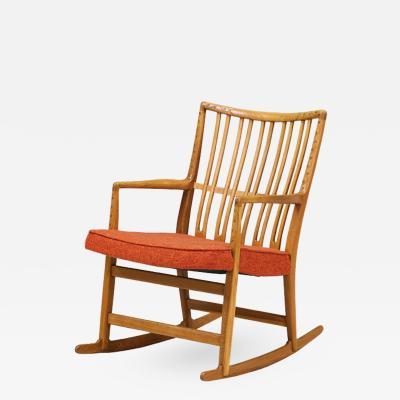 Hans J Wegner Hans J Wegner ML 33 Rocking Chair for Mikael Laursen