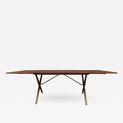 Hans J Wegner Hans Wagner Dining Table Model AT 309 for Andreas Tuck