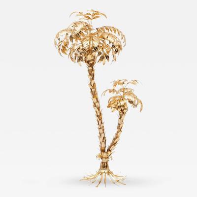 Hans K gl Hans K gl Brass Palmtree Floor Lamp