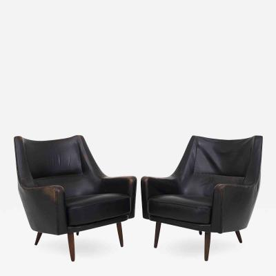 Hans Olsen A Pair of Easy Chairs