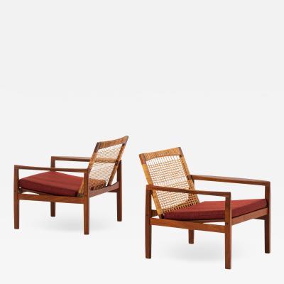 Hans Olsen Easy Chairs Model 519 Produced by Juul Kristensen