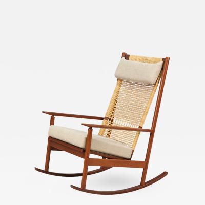 Hans Olsen Hans Olsen Model 532 A Rocking Chair for Juul Kristensen