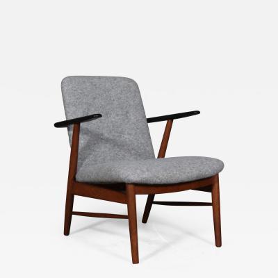 Hans Olsen Hans Olsen attributed Rosewood and beech armchair