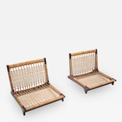 Hans Olsen Hans Olsen low lounge chairs 1960