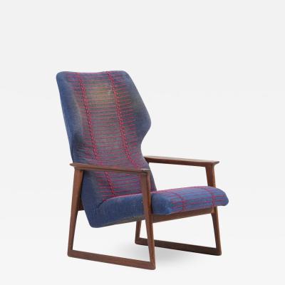Hans Olsen Pair of Danish Lounge Chairs Denmark 1960s