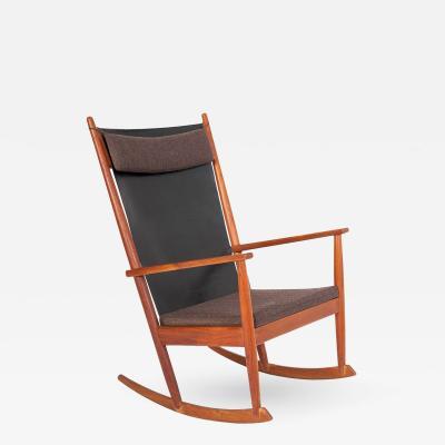 Hans Olsen Rocking Chair by Hans Olsen