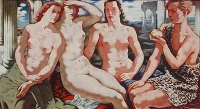 Hans Otto Orlowski The Judgment of Paris
