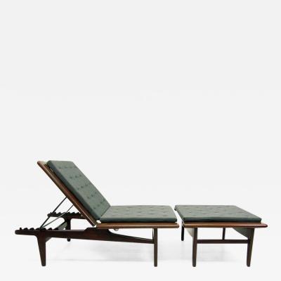 Hans Wegner 1960s Danish Daybed Chaise Longue by Hans Wegner