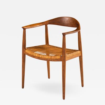 Hans Wegner Armchair Model JH 501 The Chair Produced by Johannes Hansen