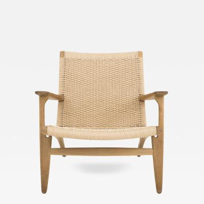 Hans Wegner CH 25 Easy Chair in Oak