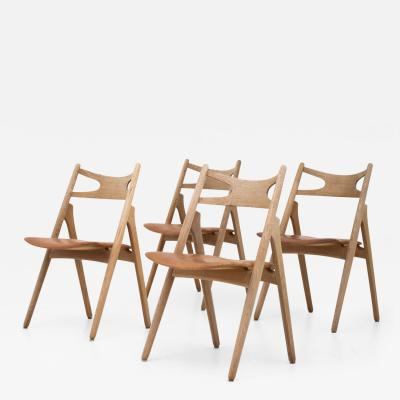Hans Wegner CH 29 Saw horse Chairs Sets