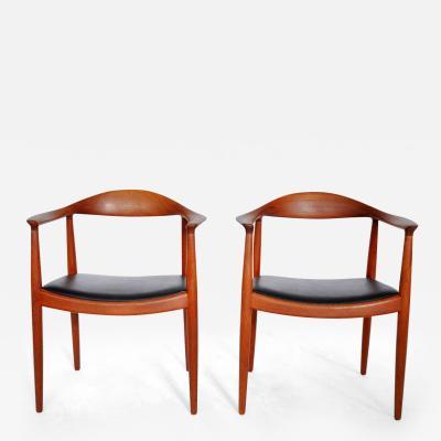 Hans Wegner Chairs by Hans Wegner
