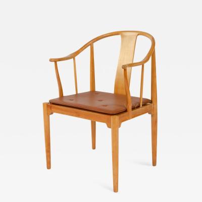 Hans Wegner Cherry Chinese Chair