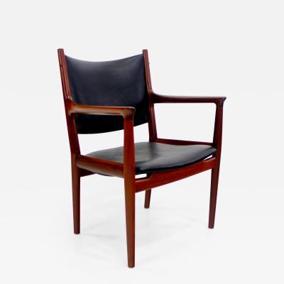 Hans Wegner Danish Modern Teak Armchair Designed by Hans Wegner