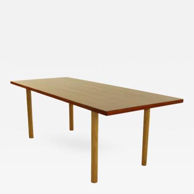 Hans Wegner Danish Modern Teak Oak Coffee Table Designed by Hans Wegner