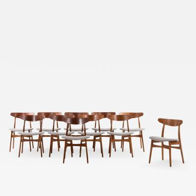 Hans Wegner Dining Chairs Model CH 30 Produced by Carl Hansen Son