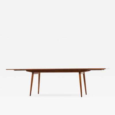 Hans Wegner Dining Table Model JH 570 Produced by Cabinetmaker Johannes Hansen