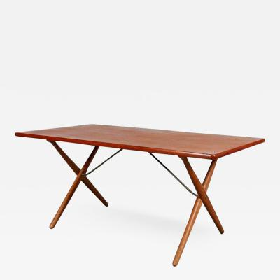 Hans Wegner Dining Table by Hans J Wegner for Andreas Tuck Denmark circa 1950