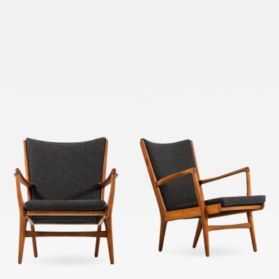 Hans Wegner Easy Chairs Model AP 16 Produced by AP Stolen